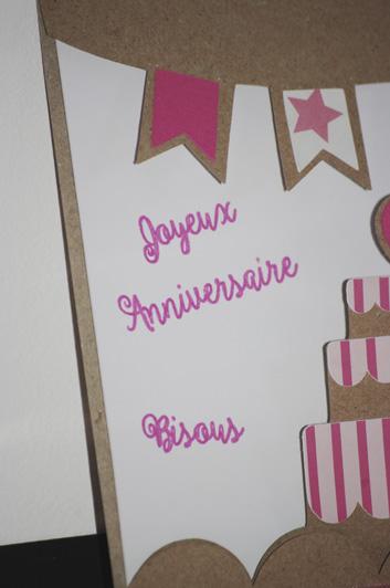 Gâteau d'anniversaire pour Anaïs