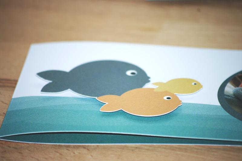 petits poissons points à relier