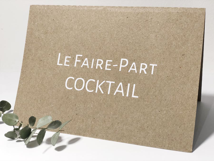 Le Faire-part Cocktail - R