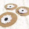 carte étape fleurs blanches