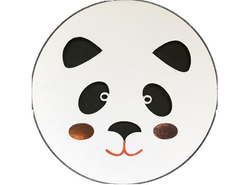 carte étapes panda