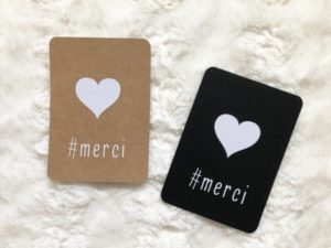 Carte #merci